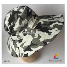 Мода платье boonie шляпу Пользовательские камуфляж высокого качества Открытый рыбалка шляпу полиэстер Оптовая пользовательских ковш Hat