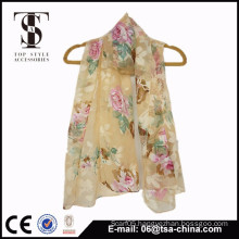 Fashionable and beautiful chiffon scarf wholesale beach shawl