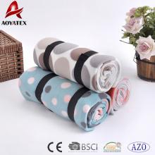 Confiável e barato design rotativo impresso polar cobertor de lã