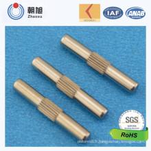 Pin moleté d'ajustement de taille d'usine d'OIN avec l'approbation de qualité du niveau 3 de Ppap