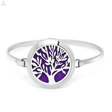 Stainless Steel Fashion Simple Aromatherapy Essential Oil Diffuser Bracelet