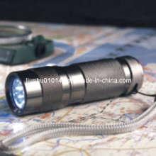 Lampe de poche en aluminium à 9 LED (torche) (12-1H0001)