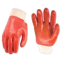 Poignet en tricot recouvert de PVC gant de travail industriel prix