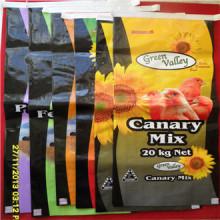 BOPP sacs en plastique tissés pour l'emballage de farine