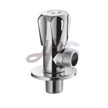 válvula de ángulo de latón de control de entrada de agua de inodoro industrial para lavabo