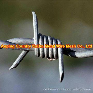 Varios de alambre de afeitar galvanizado / alambre de afeitar recubierto de PVC / alambre de púas ---- 30 años de fábrica