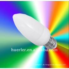 China Hersteller E14 E26 E27 LED führte Weihnachtsbaum Kerze Licht, 1W, Epistar Chip