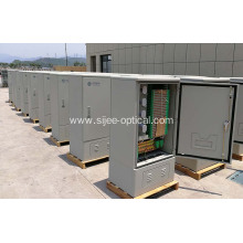 576 F Outside Plant Fiber Cable Cross Connect Cabinets