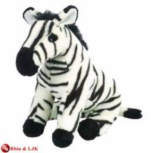 EN71&ASTM standard stuffed toy zebra plush