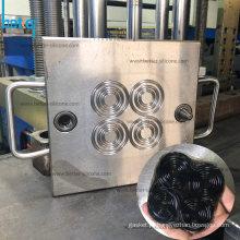 Moldagem de borracha de silicone de alta temperatura para junta ORing