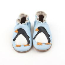 Baby Soft Leather Infant Shoes för nyfödda