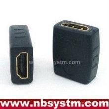 Adaptador de extensão HDMI Um tipo feminino para fêmea
