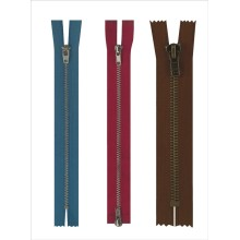 New design fashion big metal zipper for jeans wholesale