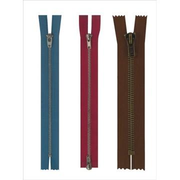 Nouveau design mode gros métal fermeture éclair pour les jeans en gros
