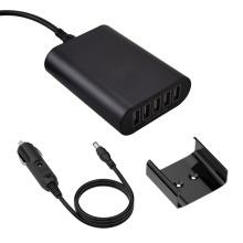 Carregador rápido do carro de 5W 9A 5-Ports USB (12V / 24V)