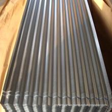 Techo de chapa de hierro en bobina de acero galvanizado