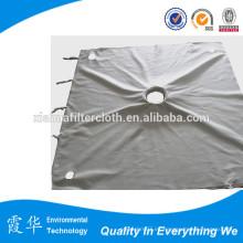 Paño de la prensa del filtro de la cámara de Pp de la alta calidad para el filtro de la succión del vacío
