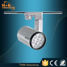 IP20 Ra80 High Power 12W LED Track Light Fixtures