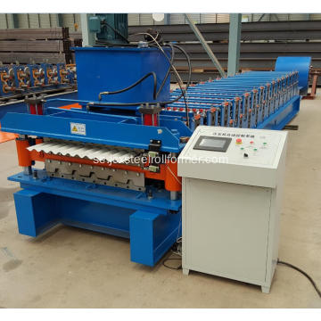 Sydafrika Lågpris Double Roofing Sheet Machine
