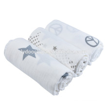 47''*47''cotton baby swaddle wraps simple muslin swaddle blanket