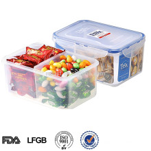 EASYLOCK plastic multi-compartment organizer box lunch box