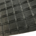 Asphalt Road Penguat Fibreglass Composite Geogrid