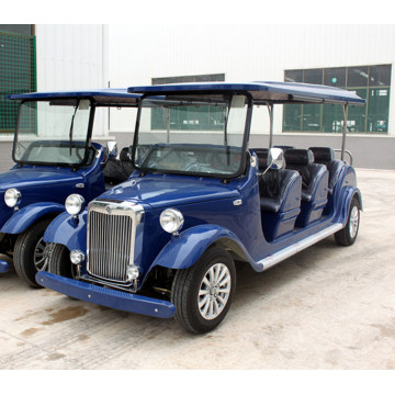 8 seaters electric vintage car para la venta