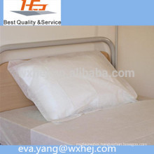 Disposable plastic material medical use pillow cover