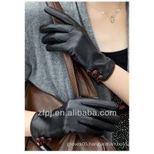 coffe color fashion sheepskin glove