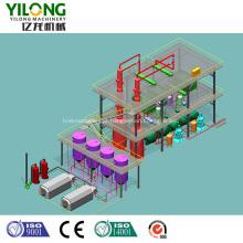 Produção de combustível diesel a partir de óleo de motor usado