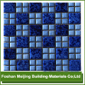 colorful glass mosaic pigment for black and white marble mosaic floor tile mosaic producer