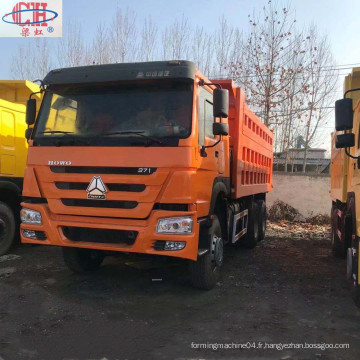 Camion à benne basculante Sinotruck HOWO 6 * 4 375HP d'occasion