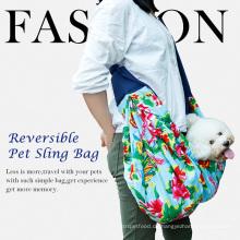 Doglemi Großhandel Katze Hundeförderer Reise Sling Bag Reversible Fashion Pet Tasche