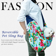 Doglemi Atacado Cat Dog Carrier Travel Bag Sling Reversível Moda Pet bag