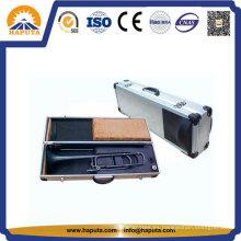 Precio de fábrica de aluminio caja de instrumentos de caja de almacenamiento para trompeta