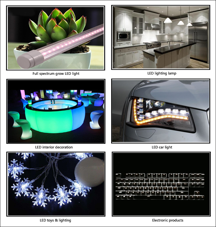 white LED application