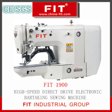 High Speed Direct Drive Electronic Bartacking Sewing Machine
