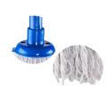 Fregona mojada redonda barata barata vendedora caliente de la limpieza del plástico durable