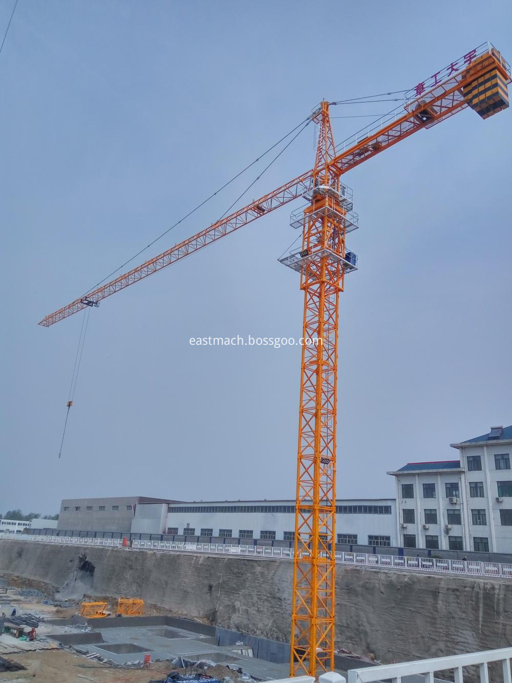 Self Raising Tower Crane For Sale With Ce Certificate