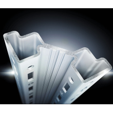 Placas de Gland Paneles Laterales Panel Trasero y Sistema de Cubierta Formador de Rodillos Proveedor Dubai
