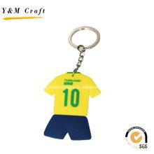 Angepasste Sport Jersey PVC Schlüsselanhänger Ym1111