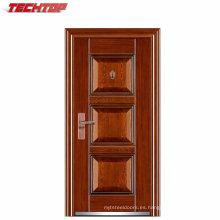 TPS-033 Puertas metálicas de acero de seguridad hechas a mano de mayor venta