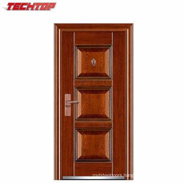 TPS-033 Entry Chinese Solid Core Steel Door Metal