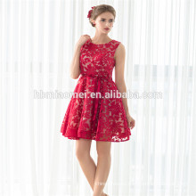 New Hot Sales Best Price Sleeveless Short Cocktail Dress Wine Red Dress Evening