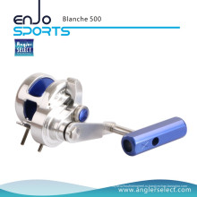 Angler Select Blanche Super Smooth Aluminum / 8 + 1bb Морская рыбалка Отсадочная катушка для рыболовных снастей (Blanche 500)