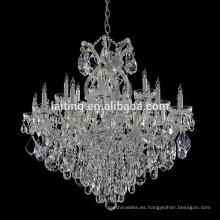 Decoración de la boda de la vendimia Iluminación de la lámpara de brazo de cristal