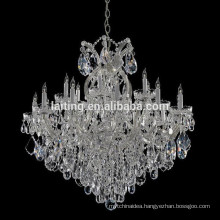 Vintage Wedding Decoration Crystal Glass Arm Chandelier Lighting