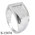 Latest Design Fashion Jewelry Ring Silver 925
