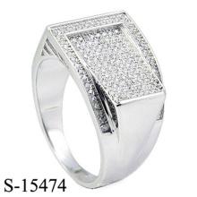 Neuestes Design Modeschmuck Ring Silber 925