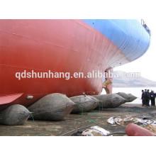 International certificat en caoutchouc bateau gonflable sauvetage ponton d'air